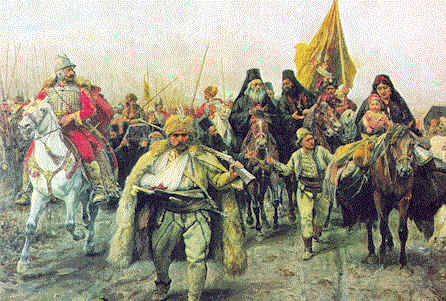 Forced Serb Migration of 1690